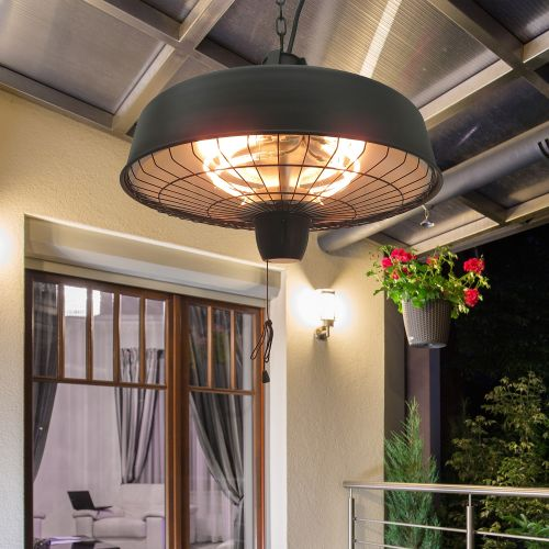 Outsunny Adjustable Power 1000/2500W Infrared Light Heater