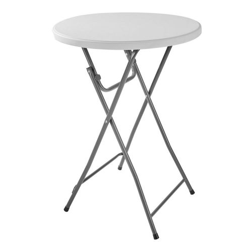 Foldable Standing Bar Round Table Patio - 80cm