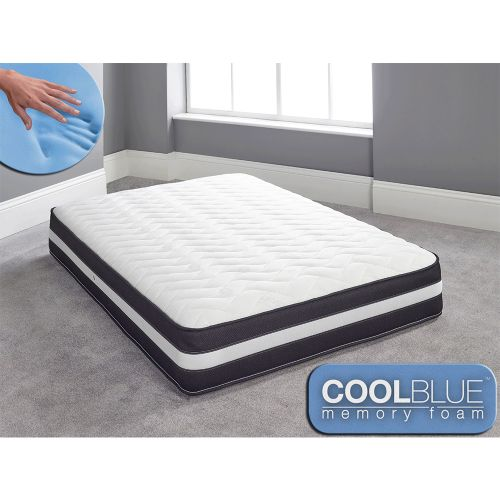 Cool Blue Memory 3D Border Foam Spring Mattress