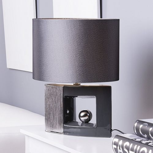 Duro Ceramic Table Lamp - Brown or Grey