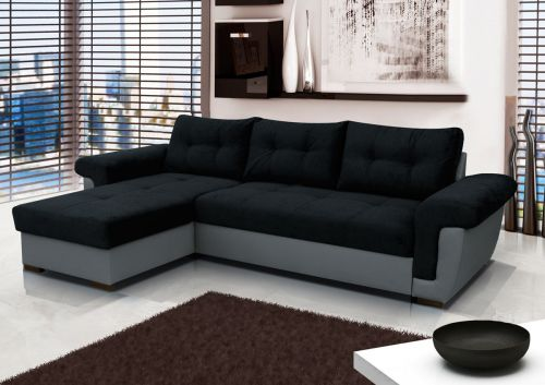 Amby Fabric Corner Sofa Bed