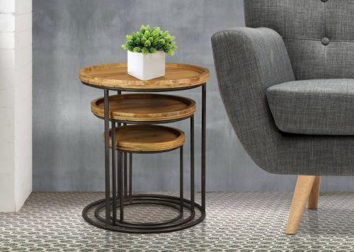 Birlea Bergen 3PC Nest of Tables