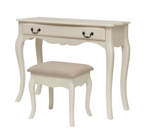LPD Chantily 1 Drawer Dressing Table - White