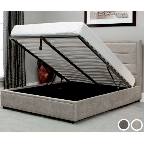 Knightsbridge Fabric Ottoman Bed Frame - Double, King or Super King