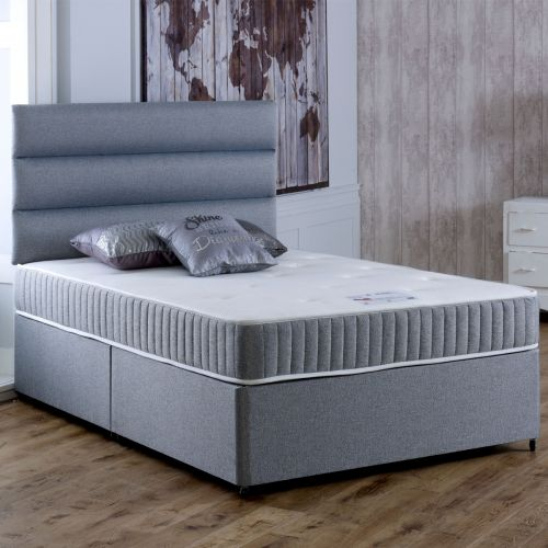Vogue Relax Coil Spring Divan Bed 4FT Small Double