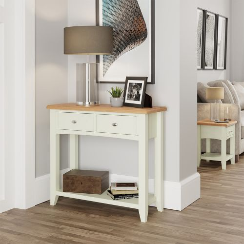 Luxury Console Table - White