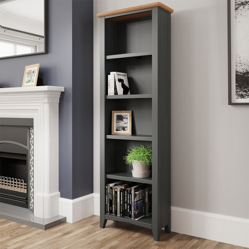Juniper Large Bookcase - Grey