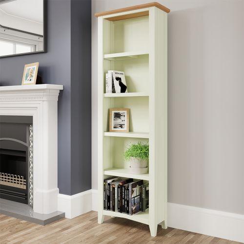Luxury Large bookcase - White