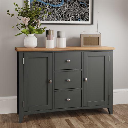 Juniper Large Sideboard - Grey