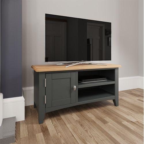 Juniper TV Unit - Grey