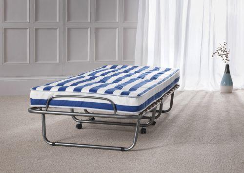 Arezzo 80cm Metal Folding Bed & Mattress