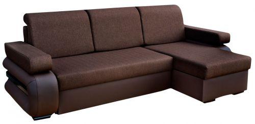 Jady Fabric Corner Sofa Bed