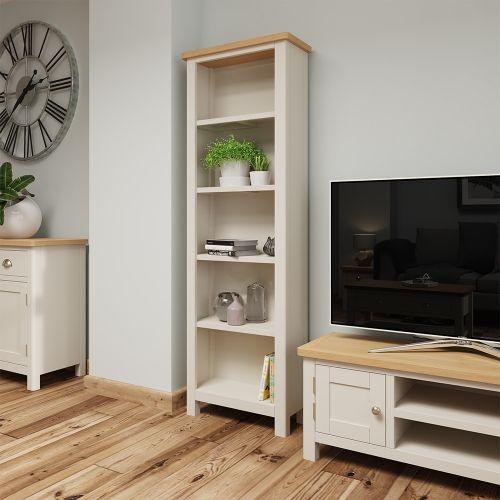 Ether Large Bookcase - Dove Grey