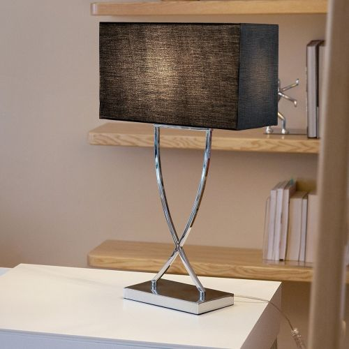 Yasuni Sleek Table Lamp - White or Black