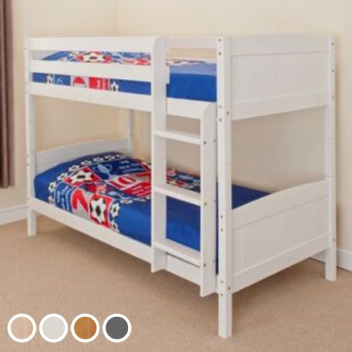 Christopher Wooden 3FT Single Kids Bunk Bed with Mattress Option