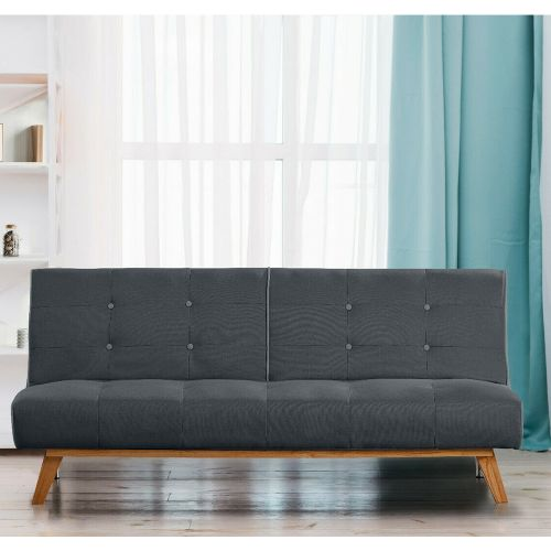 Modern Fabric 3 Seater Recliner Sofa Bed - 3 Colours