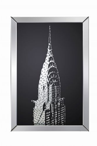 LPD Valentina Mirrored Chrysler Building Print