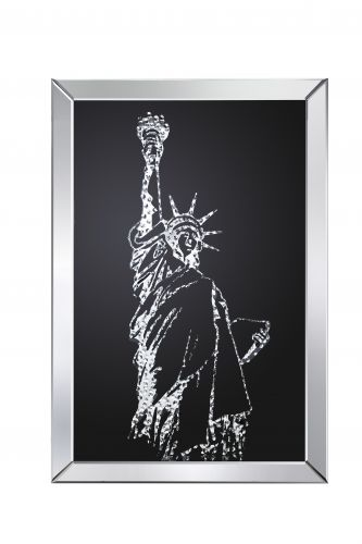 LPD Valentina Mirrored Statue of Liberty Print