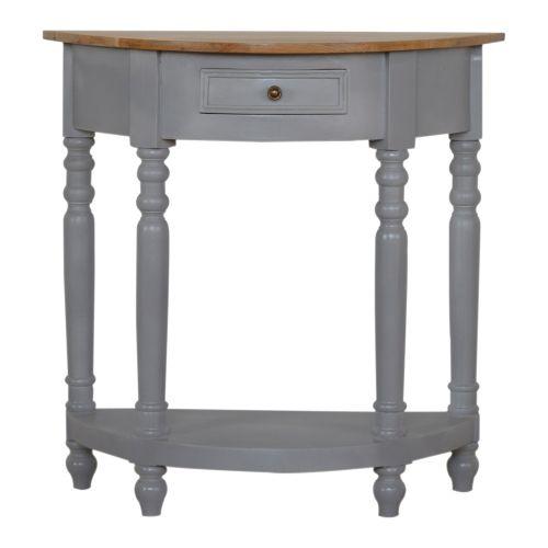 Grey Painted Serpentine Washstand