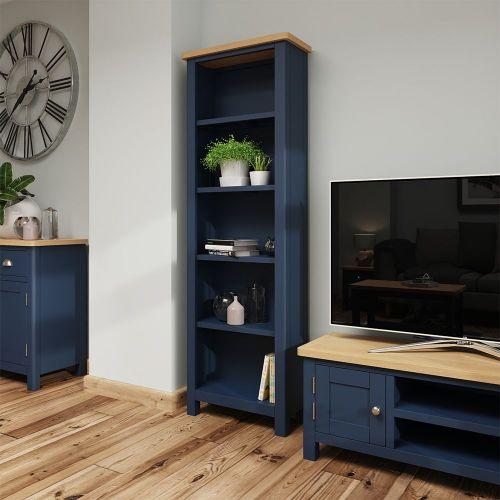 Astar Large Bookcase - Blue