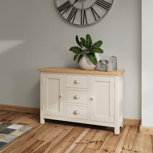 Ether Large Sideboard - Dove Grey