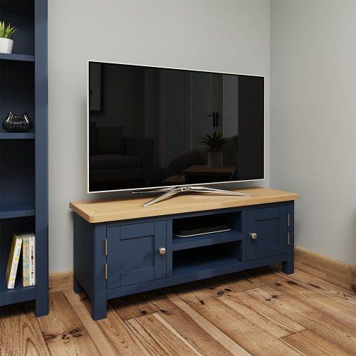 Astar Large TV Unit  - Blue