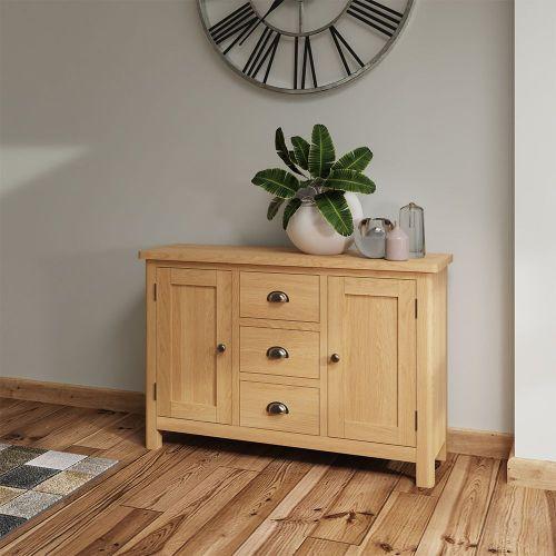 Herman Large Sideboard - Rustic Oak