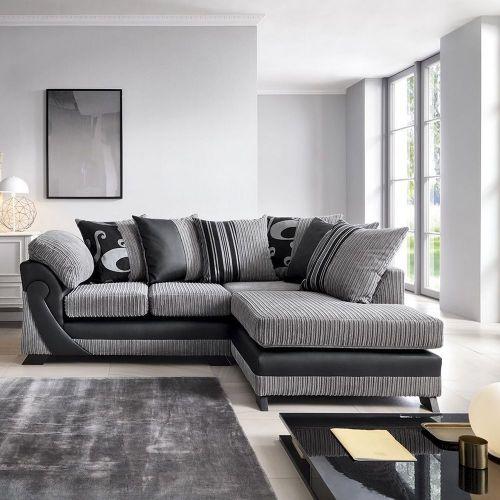 Illuminate Corner Sofa - Brown, Grey