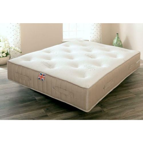 Clabon Luxury Sprung Wool Mattress - 3 Sizes
