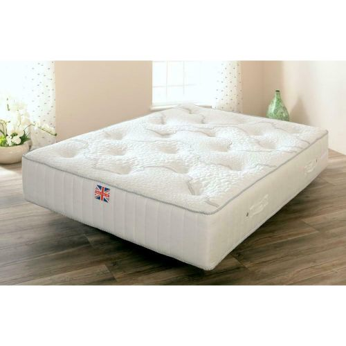 Pembridge Sprung Memory Foam and Wool Mattress - 3 Sizes