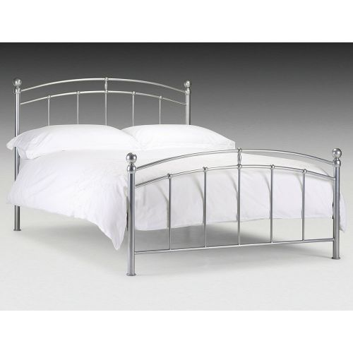 Chatsworth Metal 4FT6 Double Bed Frame with Mattress Option