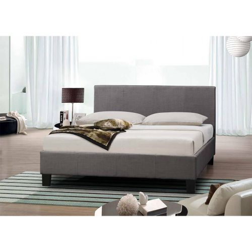 Modern Designer Italian Fabric Bed Frame - 2 Colours