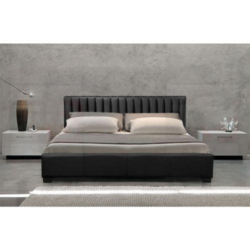 Modern Designer Italian Faux Leather Bed Frame