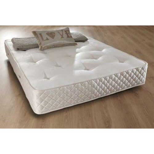 Luxury Memory Foam Sprung Mattress - 3 Sizes