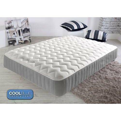 Mirco Qulited Memory Foam Sprung Mattress