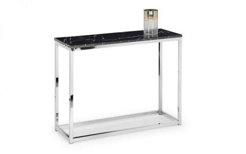 Julian Bowen Scala Black Marble Console Table
