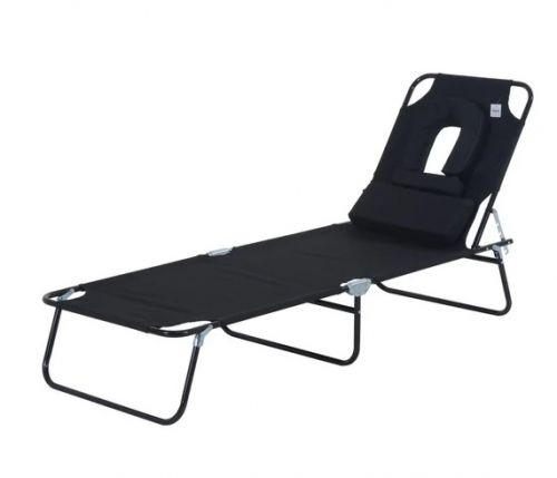 Outsunny Adjustable Sun Lounger - 4 Colours