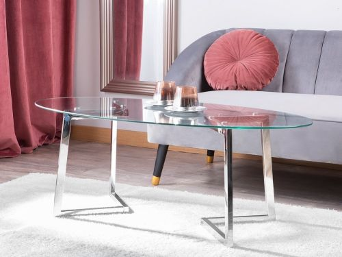 Fresho Glass Coffee Table - 2 Colours