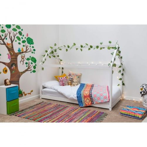 Treehouse Style Pine Kid's Bed - White or Pine