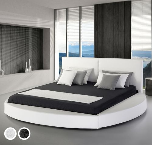 Lave Leather Bed - Super Kingsize