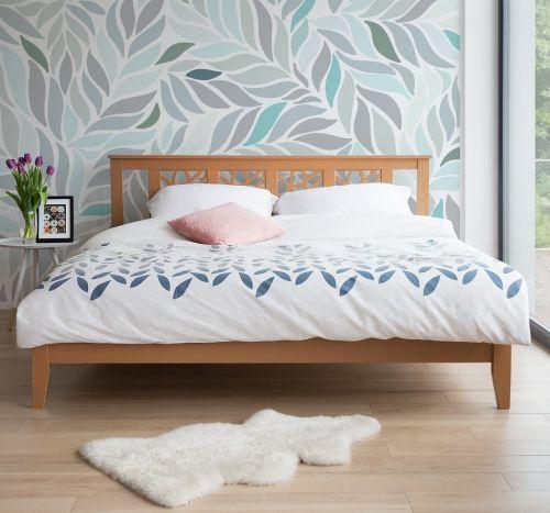 Calas Wooden Bed - Super Kingsize