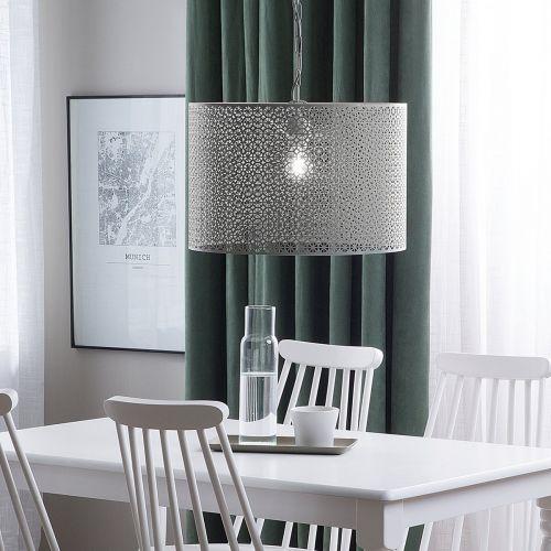 Mezin Metal Pendant Lamp - Grey