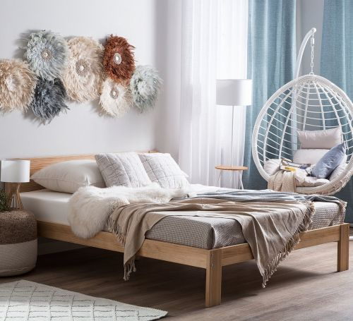 Nearbon Wooden Bed - 3 Sizes