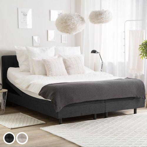 Duk Fabric Adjustable Bed - Single & Super Kingsize
