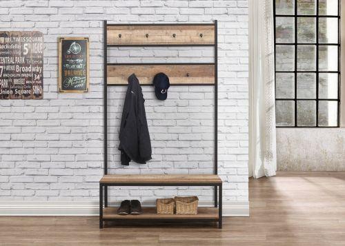 Birlea Urban Coat Rack & Bench