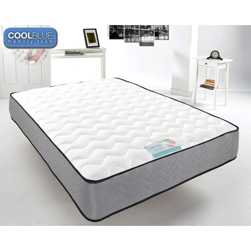 Touch Cool Blue Mirco-Qulited Memory Foam Spring Mattress