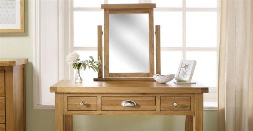 Birlea Woburn Solid Oak Mirror