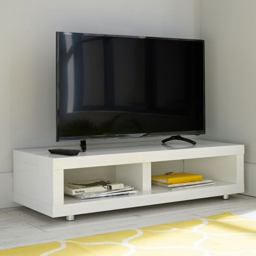 LPD Puro Gloss TV Media Stand - Cream, Stone, Charcoal or White