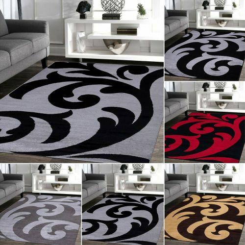 Regional Design Non Slip Floor Area Rugs 5 Colours - 6 Sizes