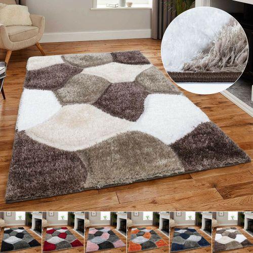 Modern Fluffy Ultra Soft Floor Rugs 8 Colour - 5 Sizes
